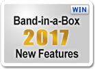 Band-in-a-Box 2017 for Windows New Features and RealTracks