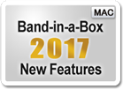 Band-in-a-Box 2017 for Mac New Features and RealTracks.
